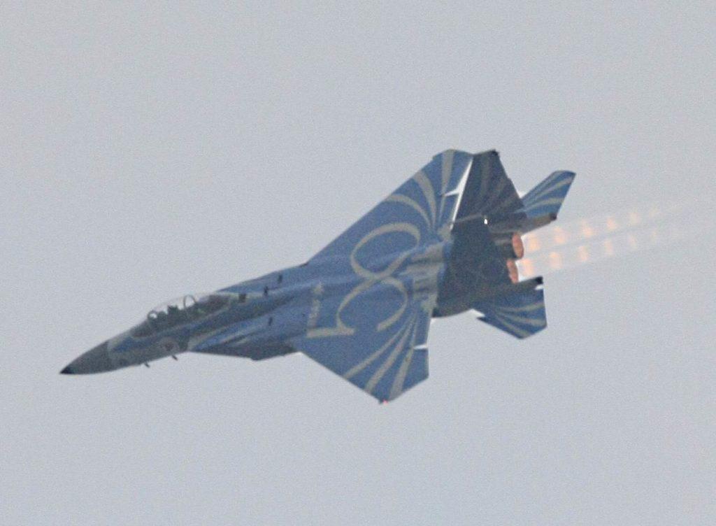 F-15SG with RSAF50 livery