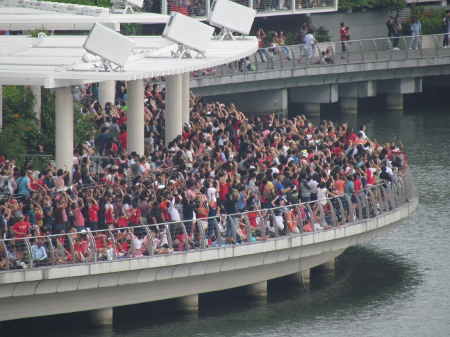 NDP Crowd at MBS