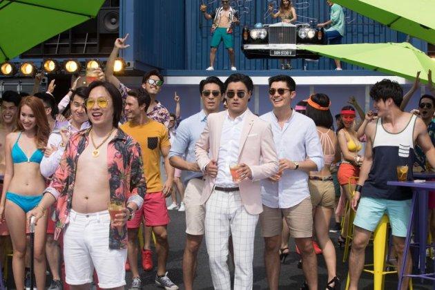 Crazy Rich Asians bachelor party