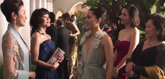crazy rich asians wedding gossip